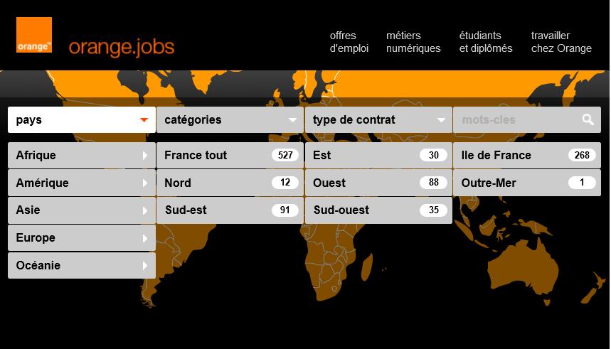 recrutement Orange