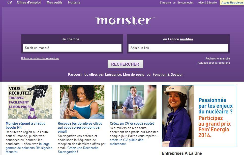 www.Monster.fr