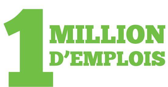 création de 1 million d'emploi en France